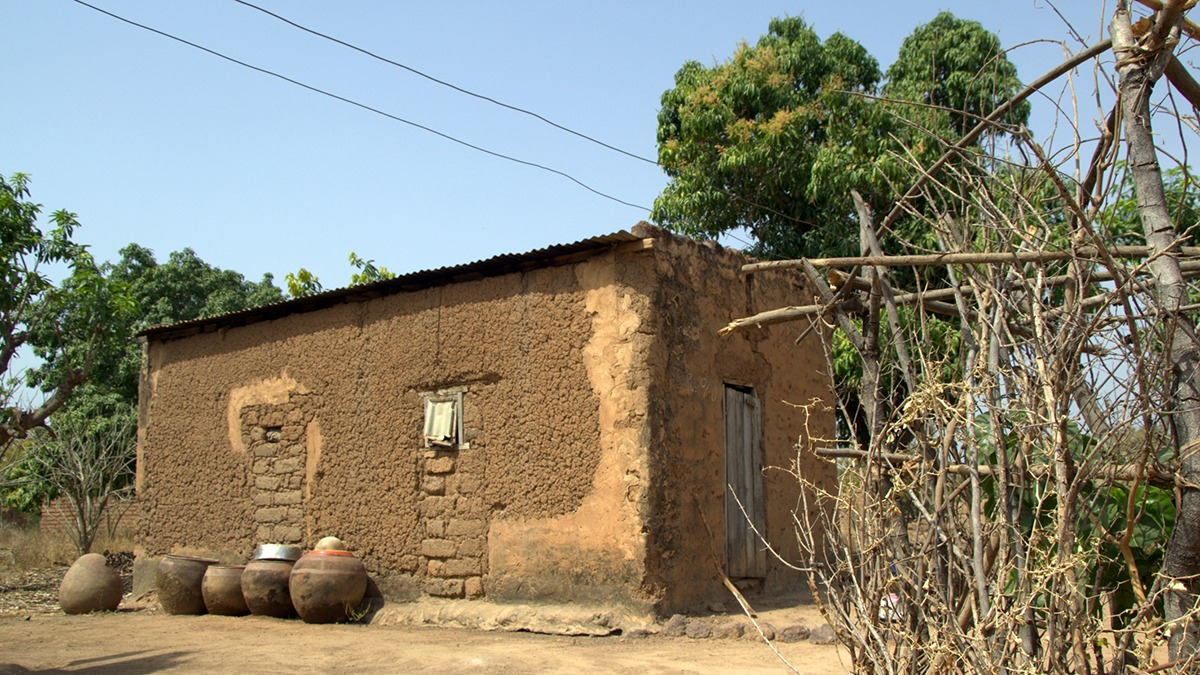 Hus i Burkina Faso.