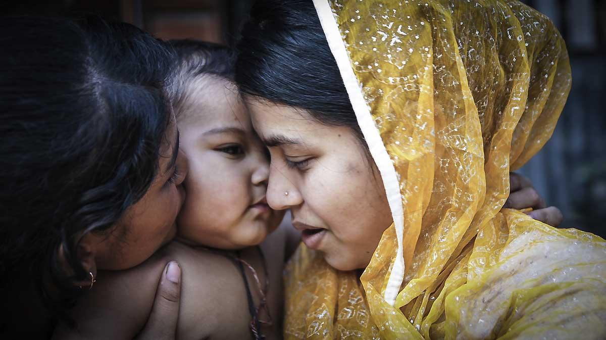 Sundrakalikapur Village, Patuakhali, Barisal, Bangladesh, 14 Mars, 2014. Foto: Thinkstock