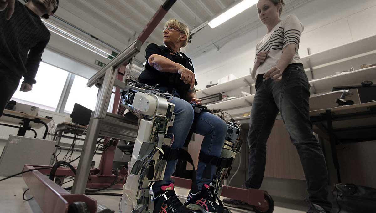 robotskelett