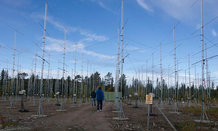 ESRAD-radarn vid Esrange. Bild: Sheila Kirkwood