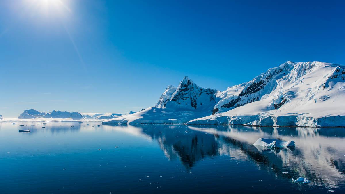 Nu ska antarktis glaciarer studeras