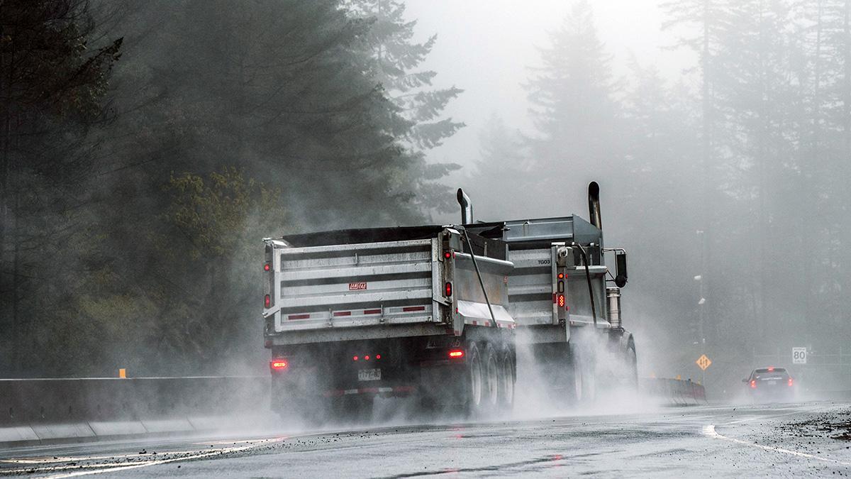 Yrkesförare som får riskutbildning blir mer försiktiga i trafiken