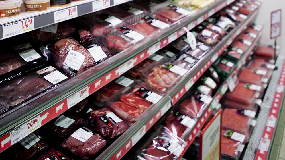 Bild på köttdisk