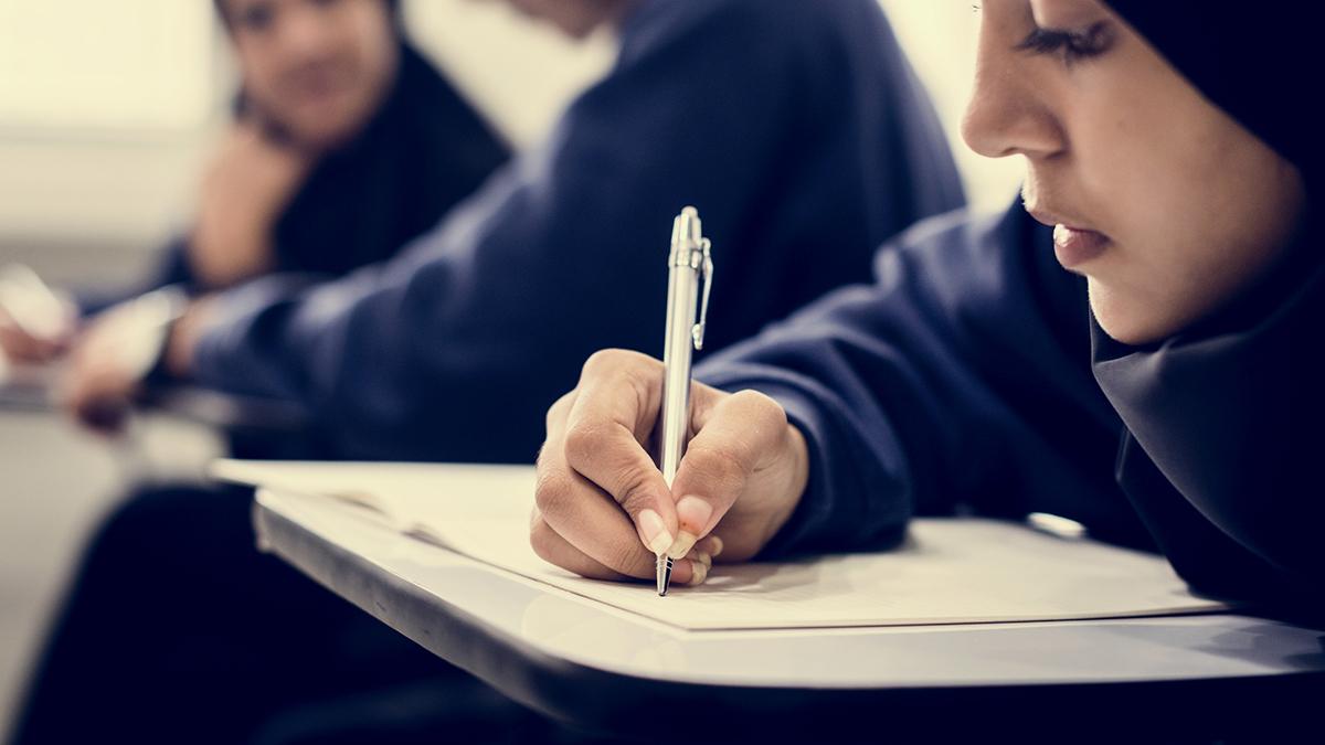 Skrivkramp i skolan