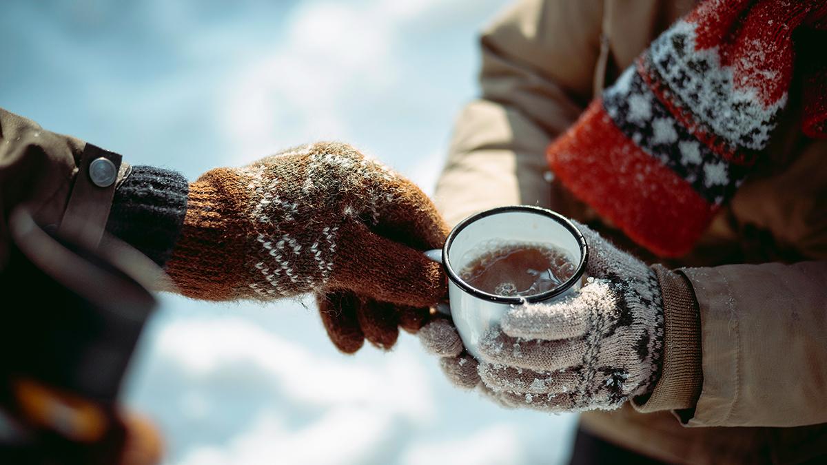 Kallt klimat i norr ger problem i händerna